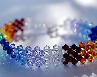 Swarovski  Rainbow Bracelet
