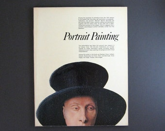 Portrait Painting - Vintage Art Book - Renaissance Art Modern Art - Phaidon Art History Book - Large Format Coffee Table Book Art Print Book