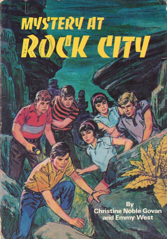 Mystery at Rock City by Christine Noble Govan and Emmy West