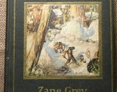 First Edition Zane Grey Tappan's Burro and Other Stories 1923 Harper & Brothers
