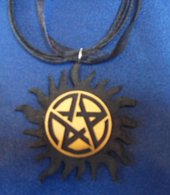 Items similar to supernatural sam and dean anti possession for Dean and sams tattoo