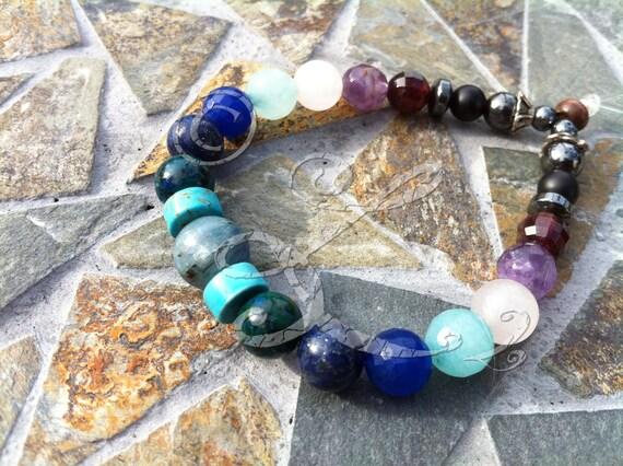 Chakra Balance Bracelet OOAK