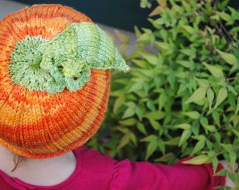 PDF PATTERN Darling Little pumpkin hat