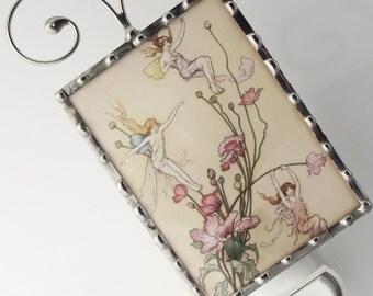 Night Light Fairies - Nightlight Fairies by Warwick Goble - Nursery Gift N76