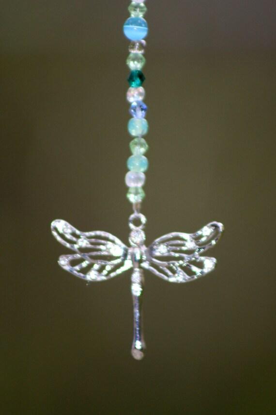 Car Mirror hanger - Car Charm - Dragonfly