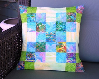 Rainbow Chain Pillow Cover