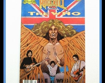 the Who Rock n Roll Comics by Revolutionary Comics 1990 1st Pressing