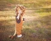 Children's Lion Costume, Toddler Lion Costume, Lion Hat and Tail, Cowardly Lion Halloween Costume, Childrens Lion Costume, Lion Costume