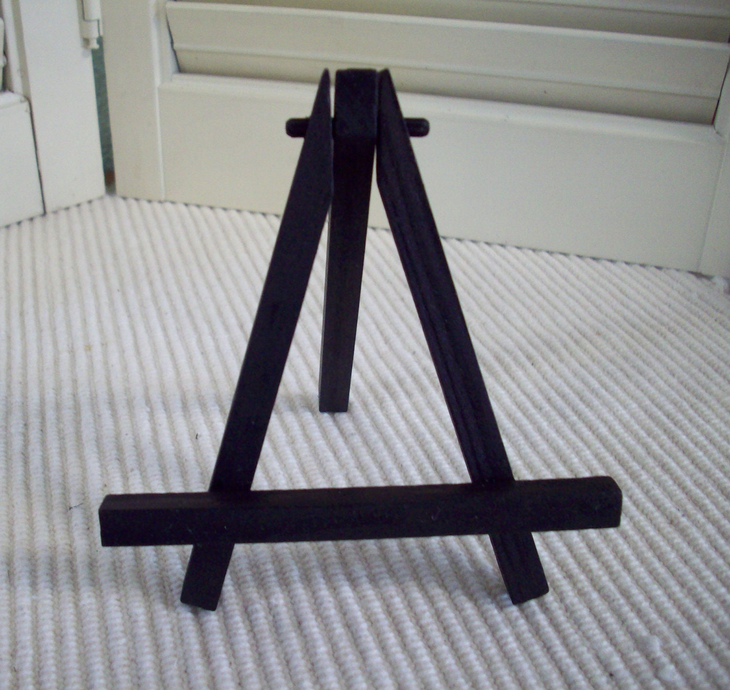Beautiful Very Impressive Portraiture Of Small Black Easel Tabletop Mini Easel  Folding By With