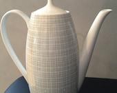 1957 Arzberg Porcelain Teapot Designed by Heinrich Loeffelhardt