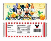 Mickey mouse candy wrappers (Hershey bar)