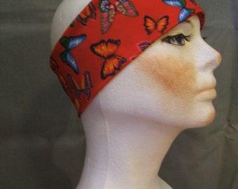 Red Butterfly Headband