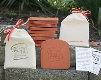 Bread Warmer, Choose Phrase, one Toasty Tile terracotta warmer tile
