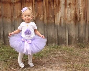 Birthday outfit, 1st Birthday, Cupcake Birthday, baby girl first birthday, Purple Chevron, Birthday Girl Tutu and Cupcake Bodysuit Set