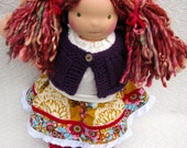 RESERVED for Tasha - Waldorf Doll, 15 inch, luvkin, Natalia