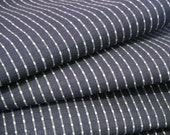 Indigo Geometric Vintage Japanese cotton kimono fabric 36 inches long x 14 inches wide