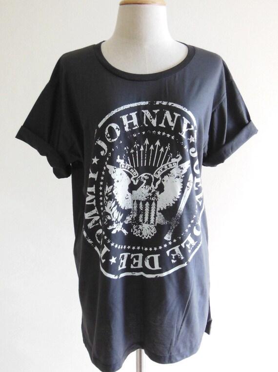 Ramones T-Shirt -- Punk Rock Heavy Metal Rock Shirt Ramones Shirt Unisex T-Shirt Women T-Shirt Men T-Shirt Short Sleeve Black Shirt Size L
