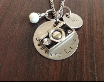 Capture Life Necklace for that Photographer in your life