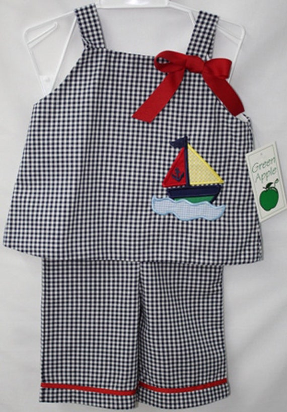 Baby Girl Clothes Baby Sailor Outfit Baby Girl Nautical
