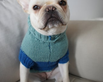 Knitting Patterns For Bulldog Sweaters : Popular items for knit ruffle dress on Etsy