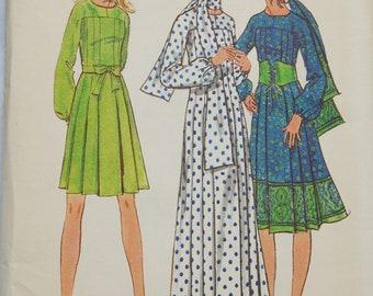 Butterick 6168 Pattern - Uncut - Dress, Long & Short - Size 14 -  Vintage - Fabulous!