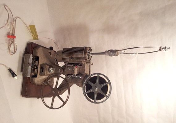 Keystone 8mm Movie Projector Table Lamp