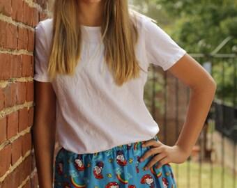Tween's Blue Hello Kitty Skirt
