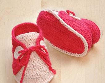 Crochet Pattern Baby Boat Shoes Baby Crochet Sneaker Baby Shoes Crochet Booties Pattern Crochet Newborn Booties Newborn Socks Crochet Design