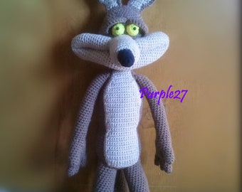 Crochet Coyote Pattern (PDF) - Instant Download