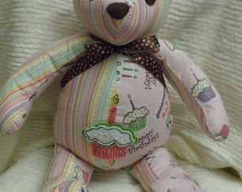 Handcrafted Happy Birthday Bear