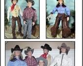 COWBOY PATTERN for TONNER Matt 16- 17 inch Dolls Rufus, Phin, Trent, JamieShow