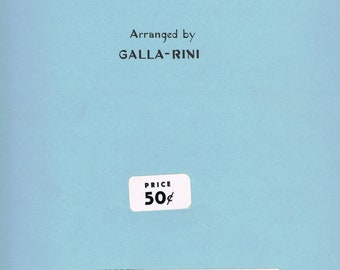 Gala Rini Hungarian Dance No.7 ,Brahms for Accordion