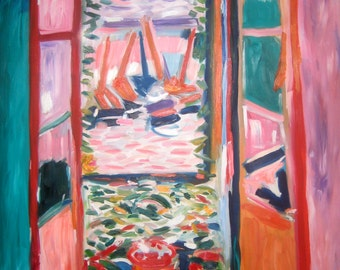 After Matisse's Window at Collioure
