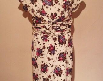 Late 1950s Tricel dress