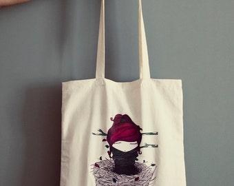Tote Bag Nido -  cotton - original illustration