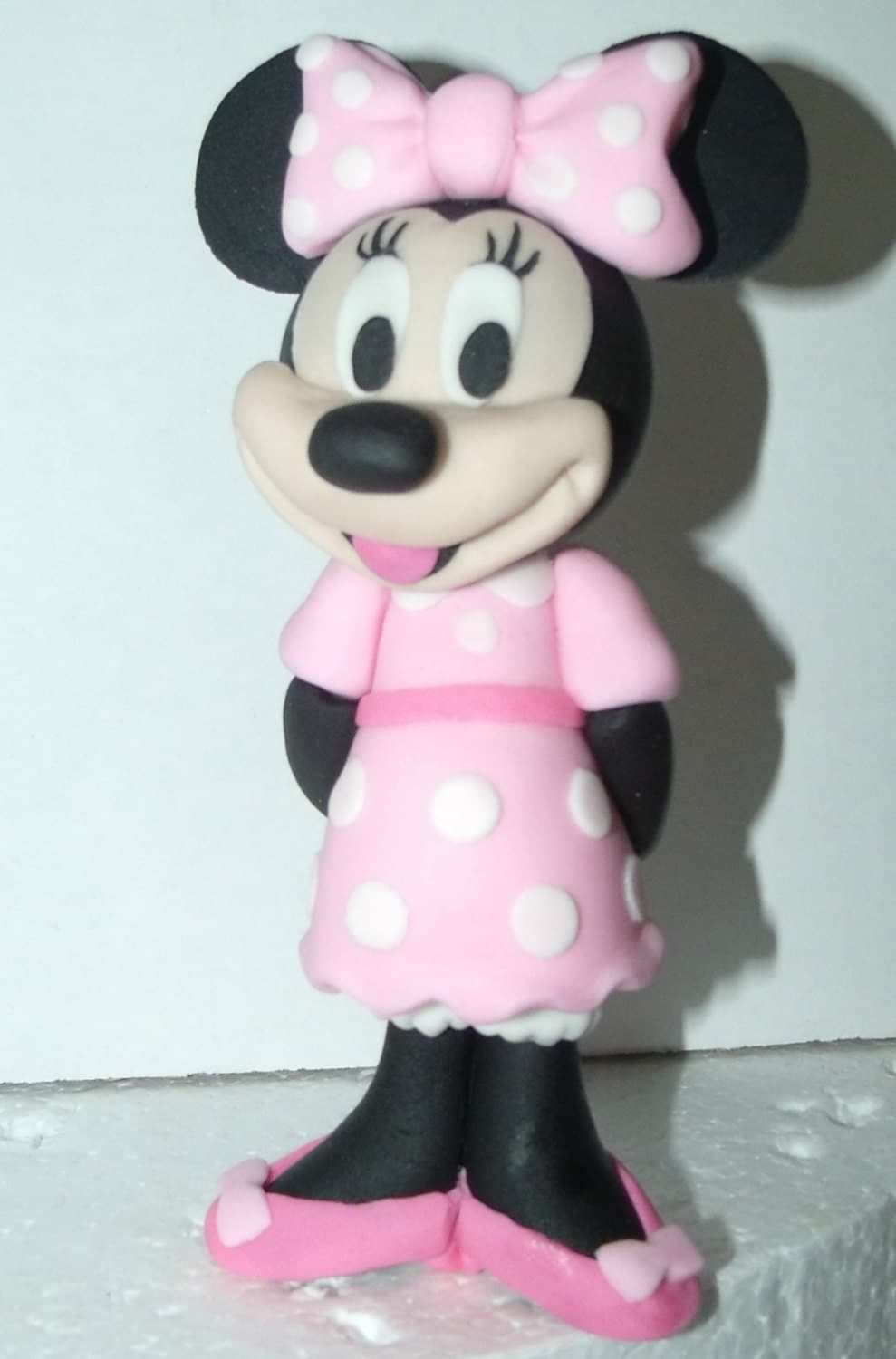 minnie mouse cake topper minnie mouse fondant cake topper by cupncake1 on etsy 5944