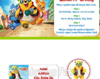 Popular Items For Agent Oso On Etsy