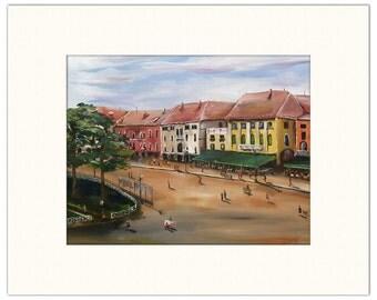 "Verona, Italy - 12""x18"" Artist's Print"