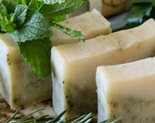 1 bar Trois d Herbs: natural, handmade soap with rosemary & other herbs