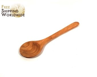 Wooden Spoon Large from Cherry wood - 8