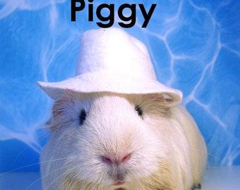 """BEACH BUM PIGGY Guinea Pig Portrait - Limited Edition 8x10"""" Photograph"""