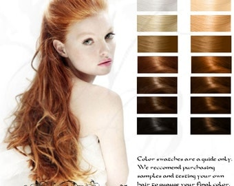 Rusalki Strawberry Blonde Herbal Hair Color and Conditioner 100g