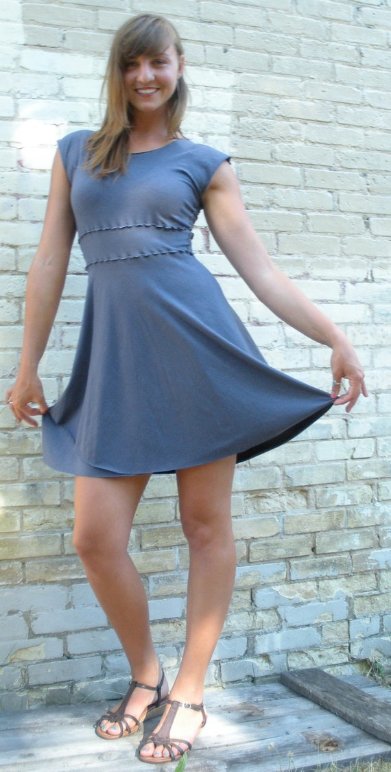 Hollyhock Dress ~ Bamboo & Organic Cotton ~ Made to Order