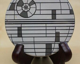 Star Wars POCKET MIRROR Death Star - geekery - gift - nerd