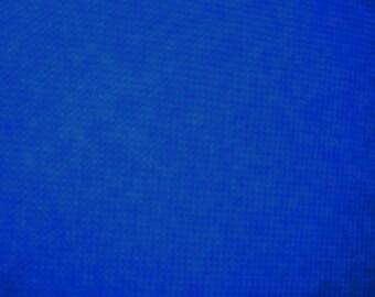 vintage 1966 royal blue satin fabric