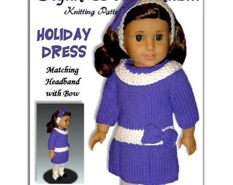 Doll knitting Pattern, for American Girl,18 inch doll, Gali Girls, Instant Download 028