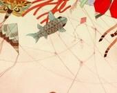11x14 Art Print - Tangled - fine art color archival print - girl and her kite