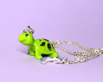 Turtle Necklace made from New LEGO®  Piece