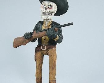 Skeleton Western Sculpture