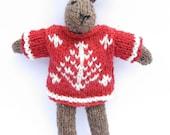 Knit your own Christmas Bunny Kit